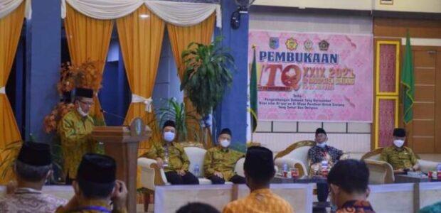Wabup Buka MTQ ke-XXIX Kabupaten Sintang
